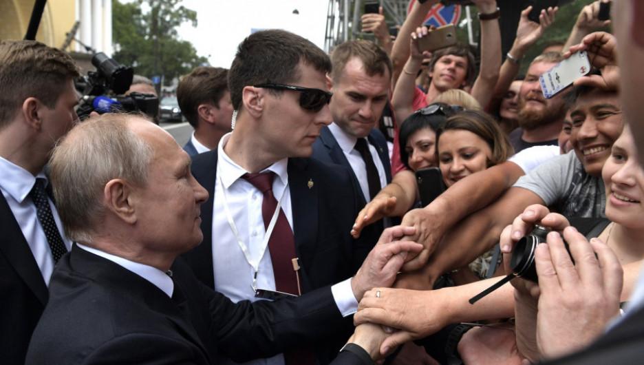 Владимир Путин и россияне.