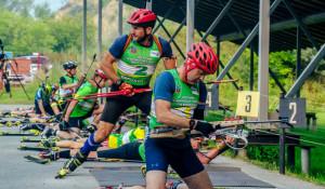 Чемпионат по биатлону среди ветеранов.