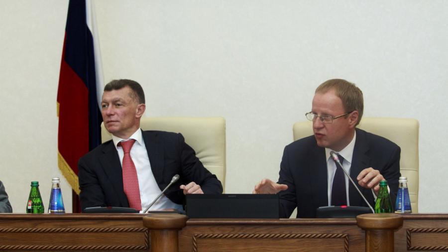 Максим Топилин и Виктор Томенко.