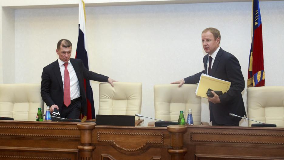 Не в лоб, а нестандартно: Топилин и Томенко рассказали, как собираются бороться с бедностью в Алтайском крае
