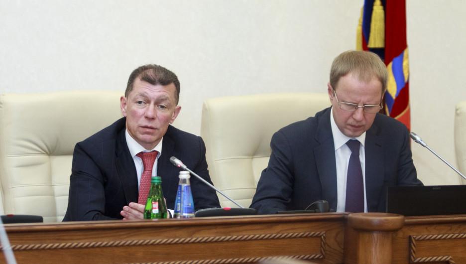 Бывший куратор Алтайского края Максим Топилин ушел с поста главы Пенсионного фонда