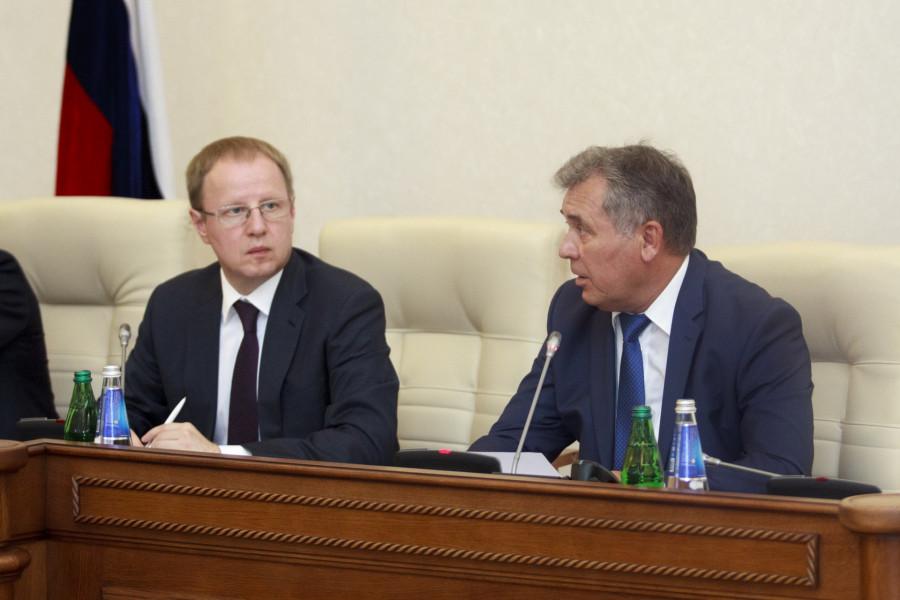 Виктор Томенко и Александр Романенко.
