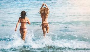 Лето, пляж, отдых.