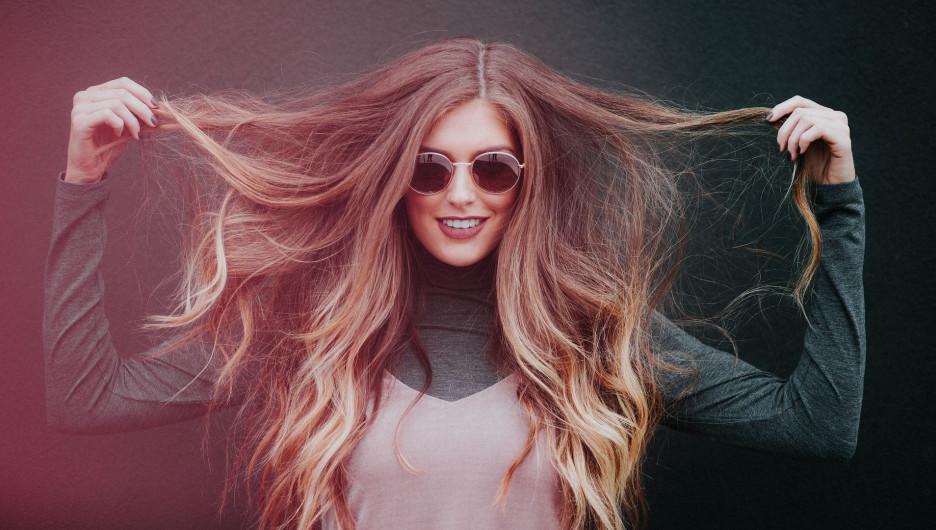 Женщина. Волосы. Прическа