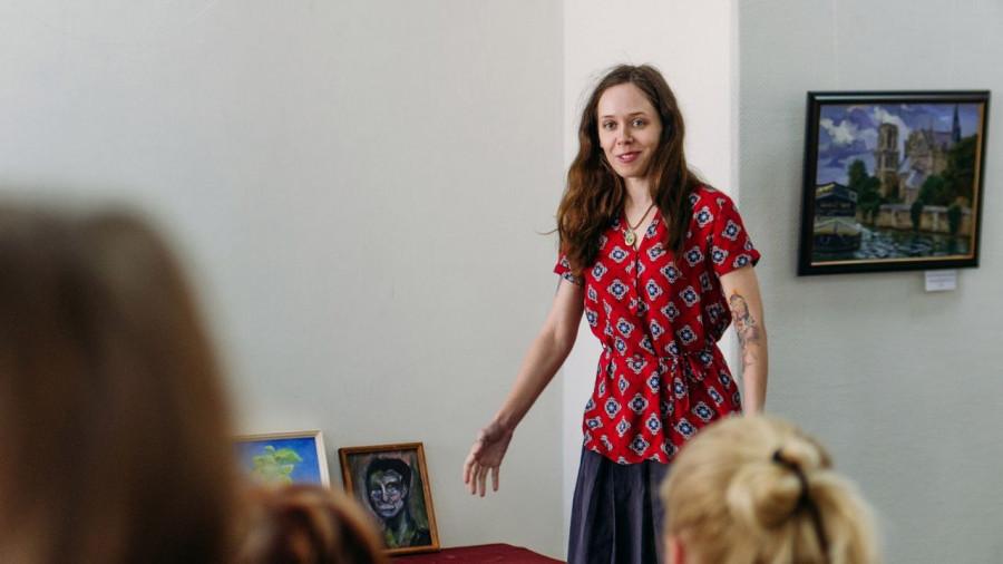 Ксения Пономаренко, барнаульская художница.