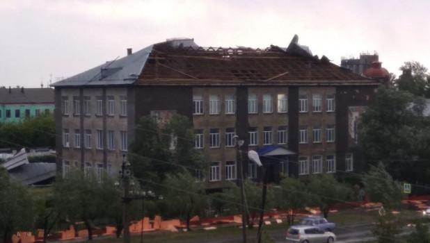 Ураган в Карасуке.