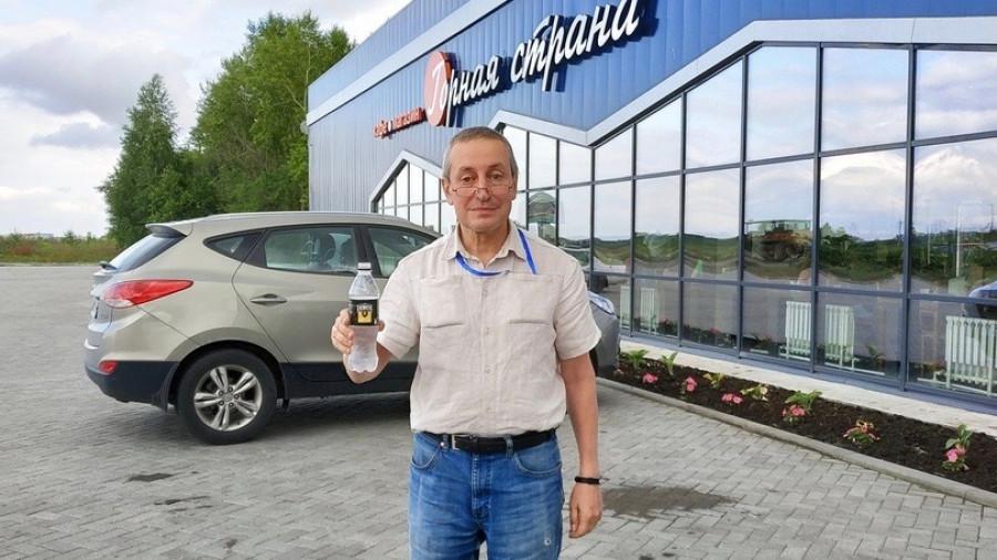 Сергей Хестанов в Алтайском крае.