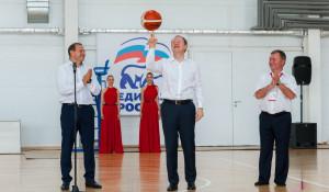В Бочкарях открыли новый комплекс для игровых видов спорта.