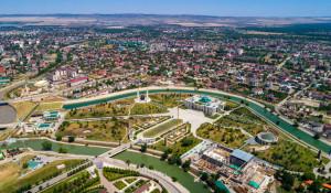 Резиденция Кадырова в Грозном.