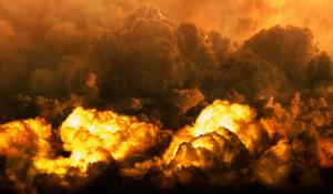 Взрыв. Огонь
