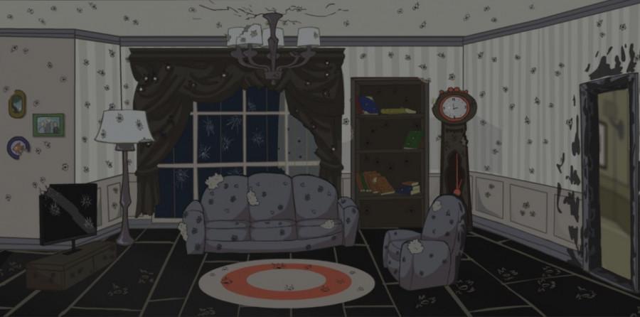 """Место действия в мультфильме """"Смерть со звездами""""."""