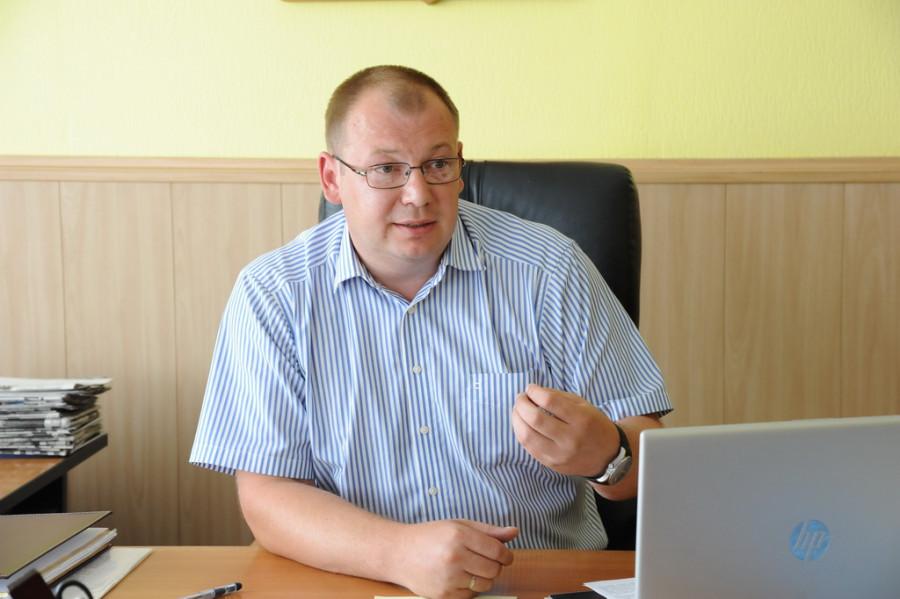 Денис Тренькаев, глава Топчихинского района.