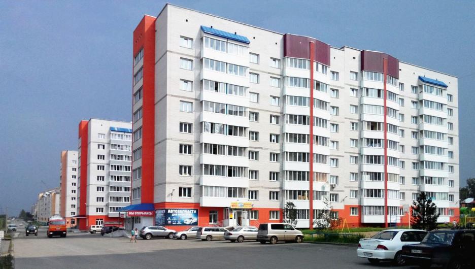 Новый квартал Новоалтайска.