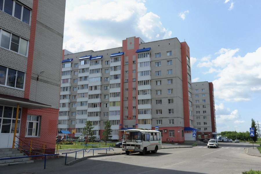 Микрорайон на Деповской в Новоалтайске.