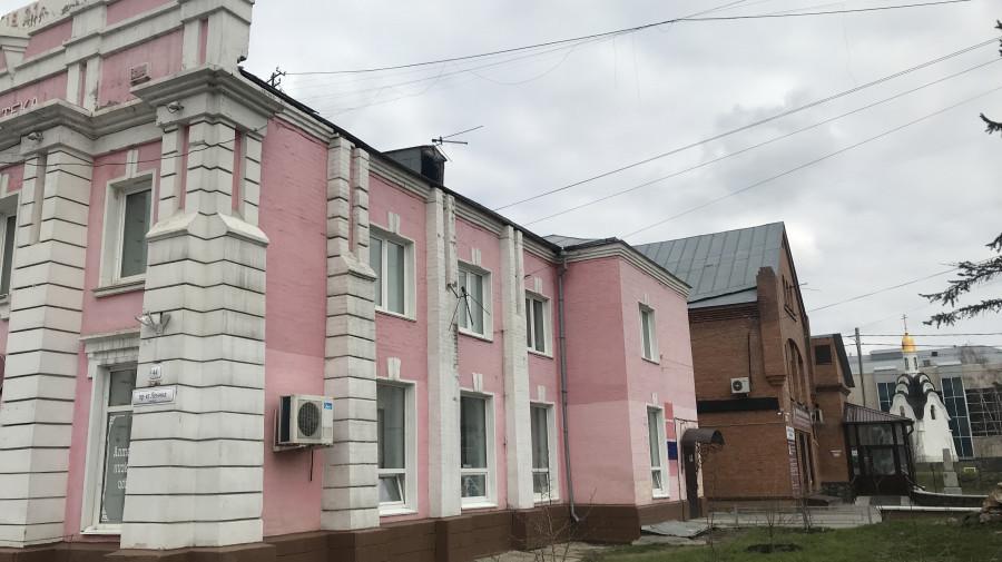 Барнаул. Здание на пр. Ленина, 44.