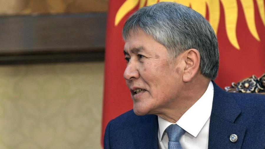 Экс-президент Киргизии Алмазбек Атамбаев.