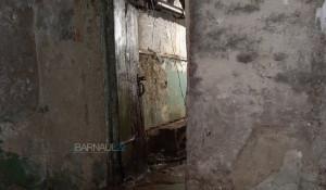 Страшный подвал в барнаульском доме на Потоке.