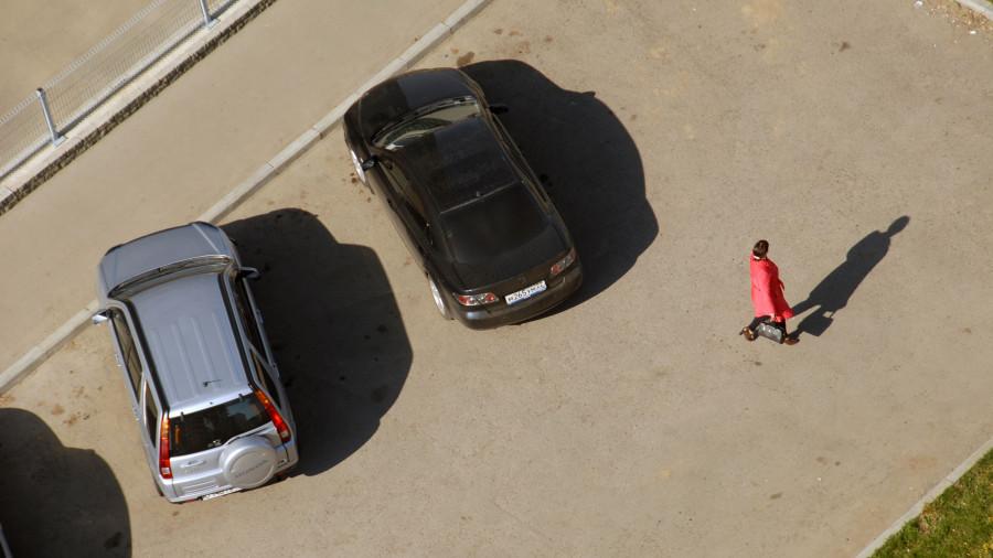 Парковка. Машины.