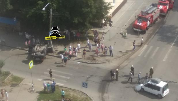 ДТП на ул. Эмилии Алексеевой 8 августа.