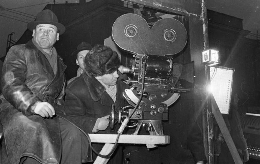Съемки фильма в СССР