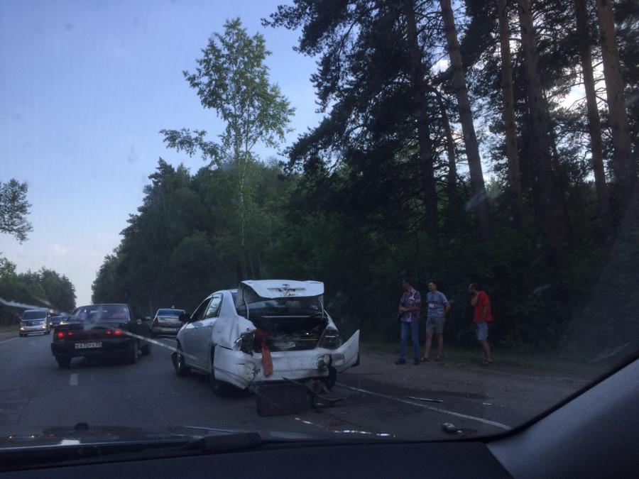 ДТП на шоссе Ленточный бор.