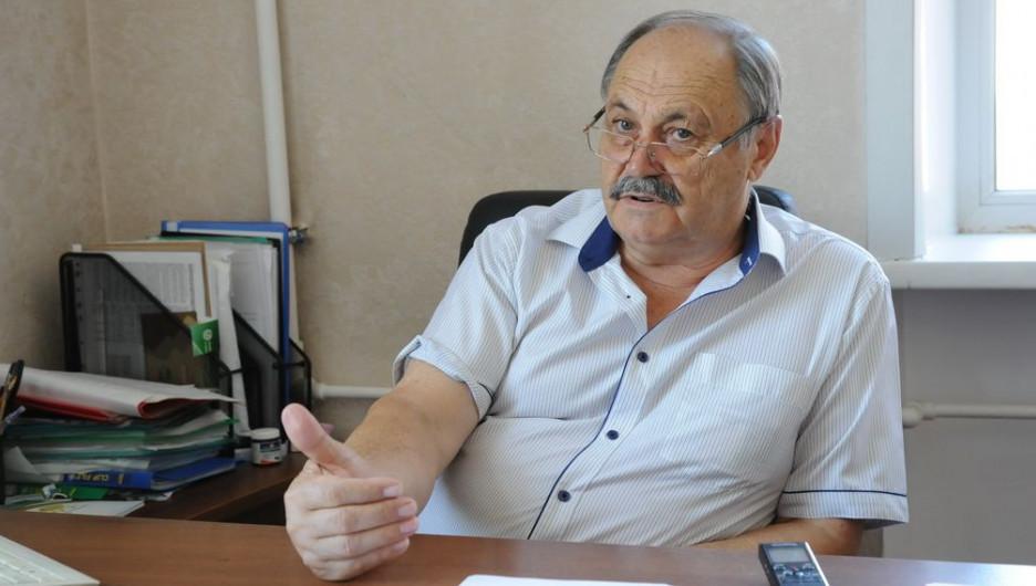 Александр Маленко, завкафедрой лесного хозяйства АГАУ.