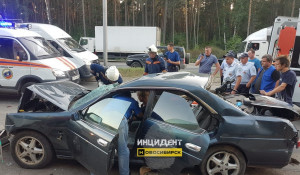 Авария на Бердском шоссе. 12 августа 2019 года