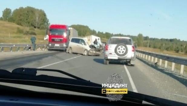 ДТП под Новосибирском 13 августа