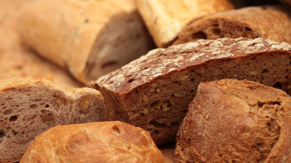 Постная еда. Хлеб