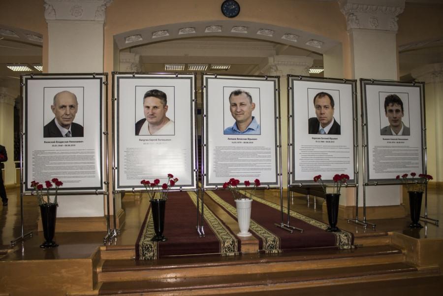 Погибшие атомщики.