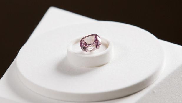 Розовый бриллиант.