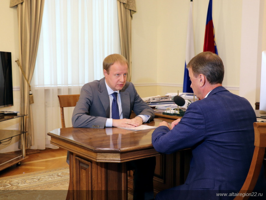 Виктор Томенко и Вячеслав Франк.