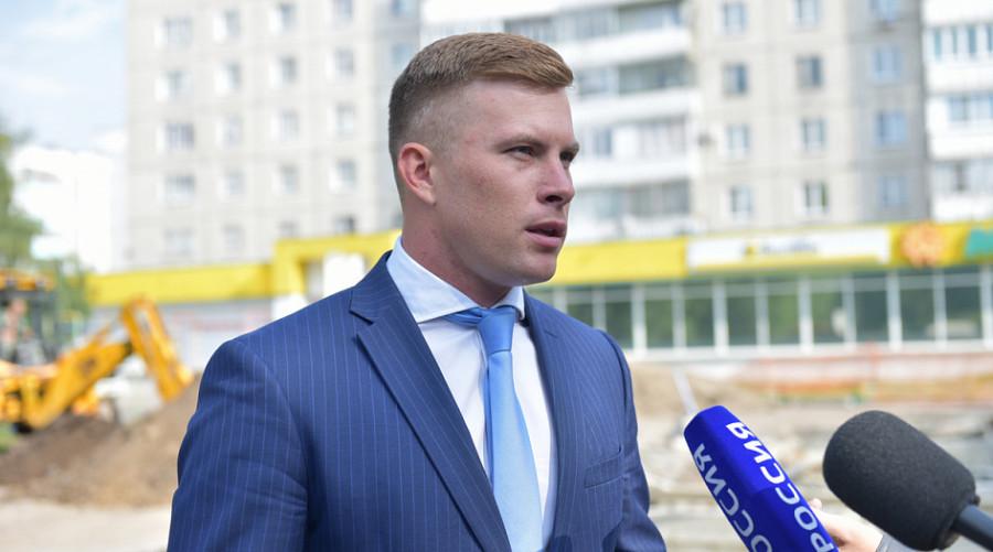 Антон Шеломенцев, председатель комитета по дорожному хозяйству, благоустройству, транспорту и связи  Барнаула