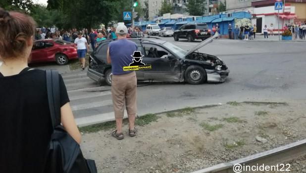 ДТП в Барнауле 15 августа.