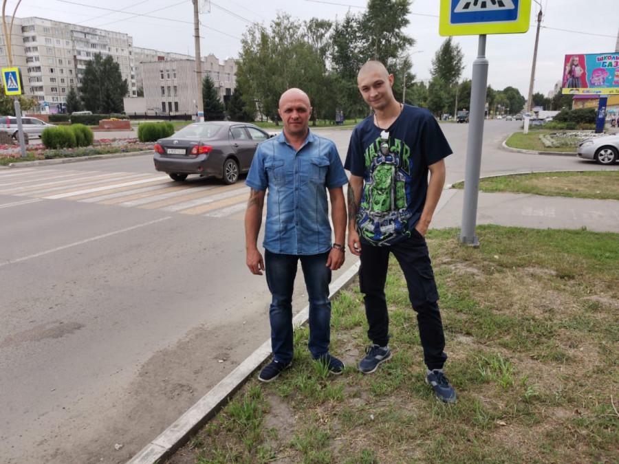 Даниил Голубев и Сергей Локтионов.