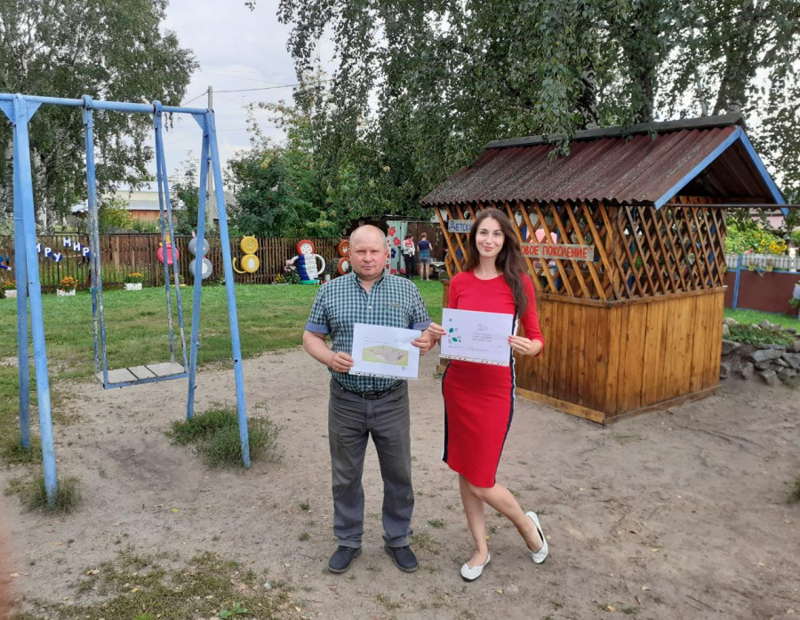Негреев Олег и Кандакова Дина.