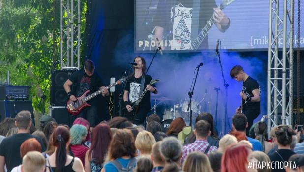 Третий барнаульский рок фестиваль.