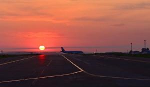 В барнаульском аэропорту.