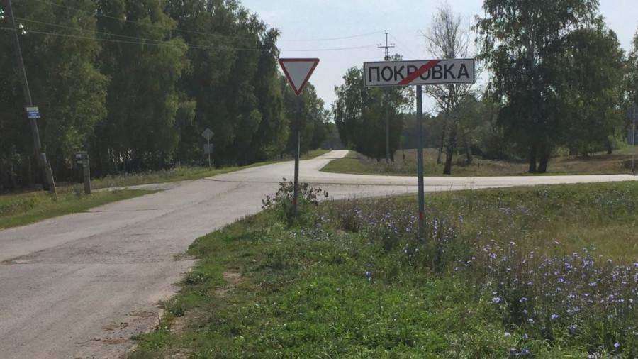 Деревня Покровка Первомайского района Алтайского края.