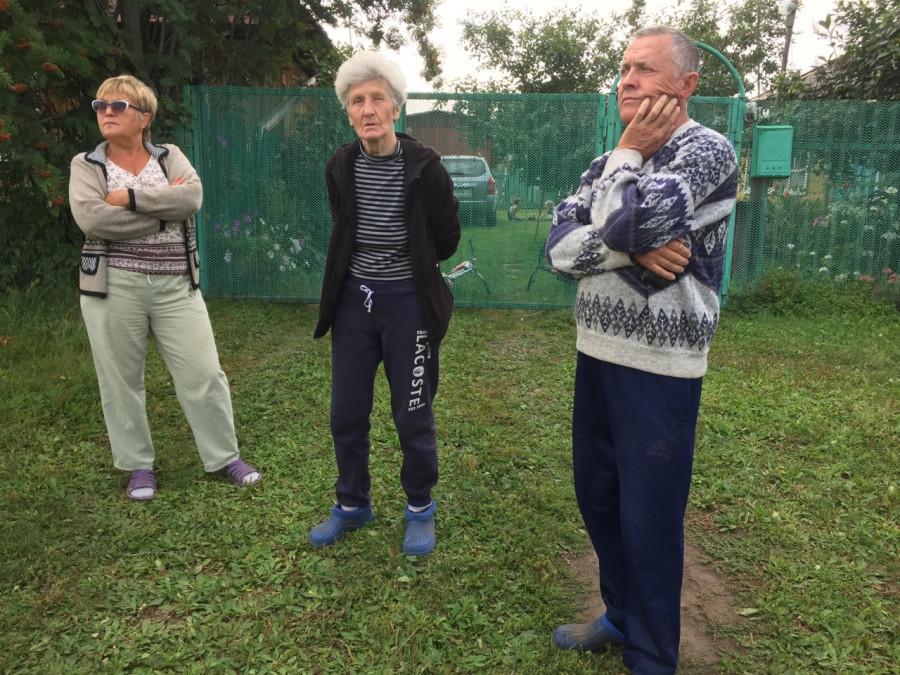 Жители деревни Покровка Первомайского района Алтайского края.