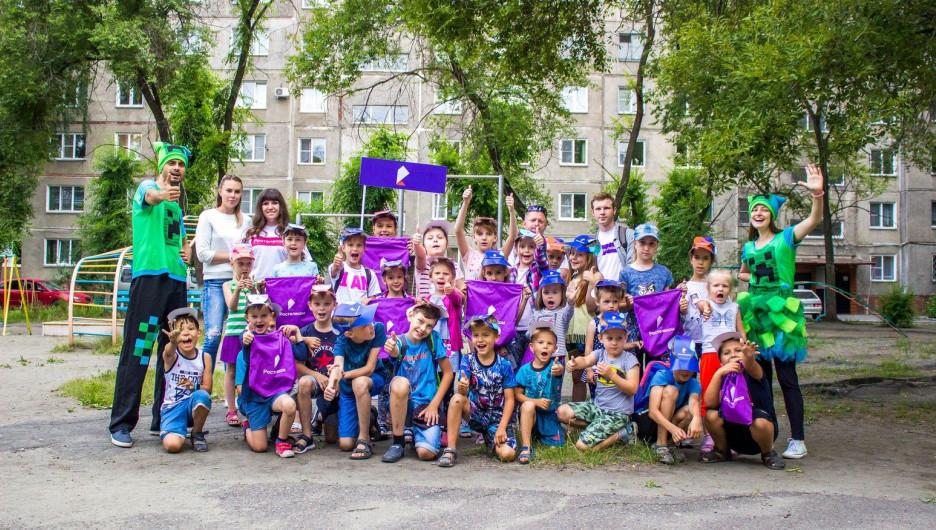 «Ростелеком» организовал в Бийске серию промоакций «Дворики»