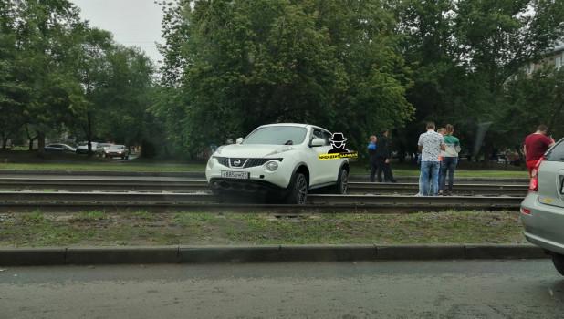 ДТП на ул. Антона Петрова.
