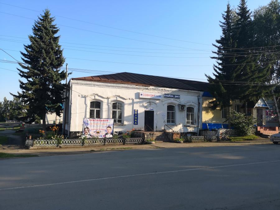 Село Усть-Пристань, купеческий дом.