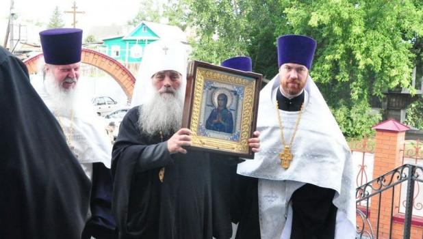 В Барнаул привезли икону «Умягчение злых сердец».