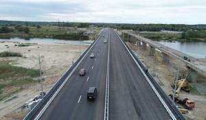 Мост на Чуйском тракте в Тальменском районе.