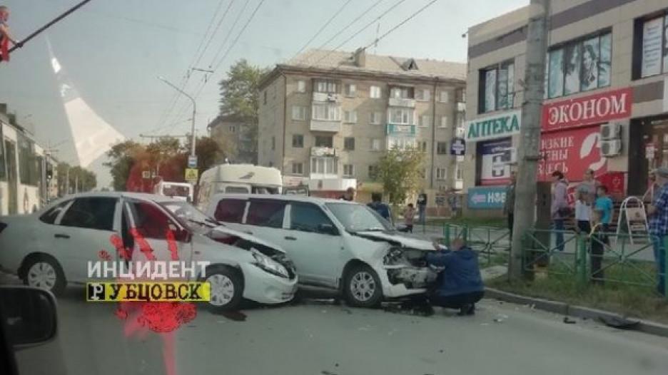 ДТП в Рубцовске.