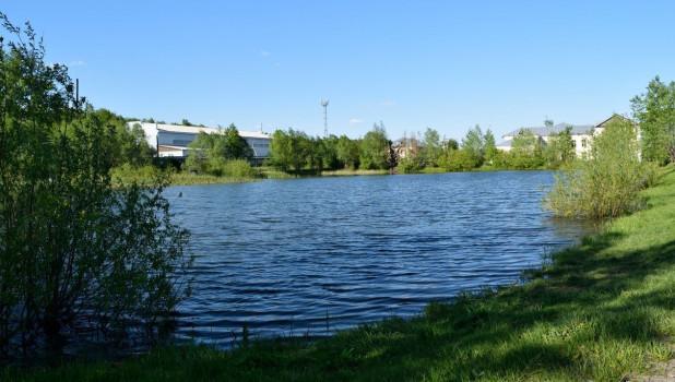 Озеро Ковалевское в Бийске.