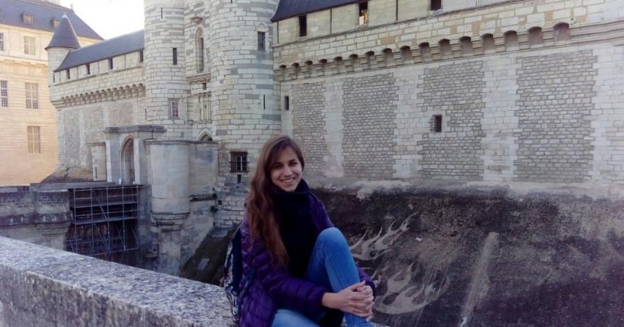 Татьяна Стещенко, Франция, студентка университета  ParisTech