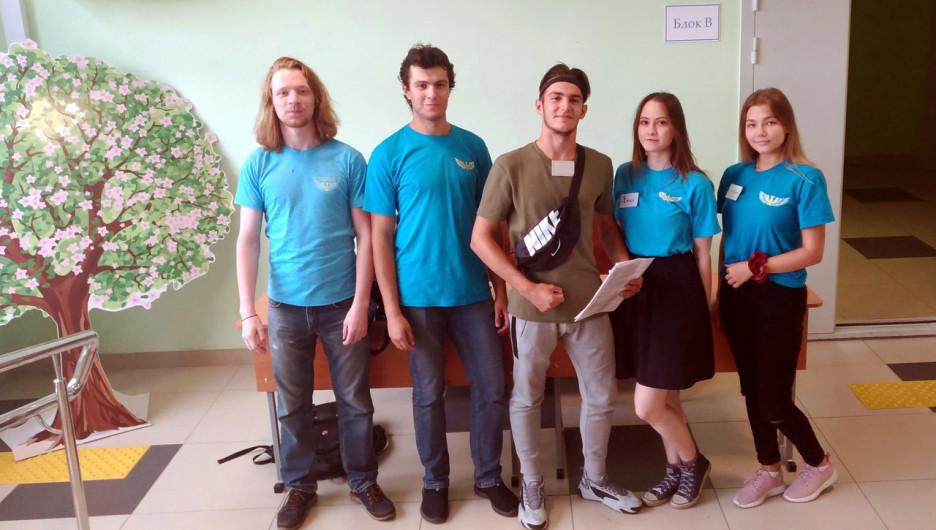 Заселение студентов АлтГУ в общежития.