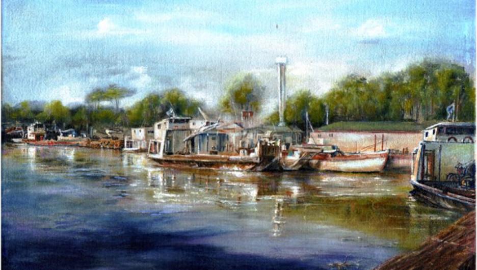 Картина Ирины Шутовой де Парра.